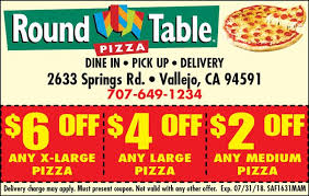round table vallejo ca round table pizza coupon by indoormedia