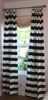 Black Ticking Curtains Ideas U0026 Tips Luxury Horizontal Striped Curtains With Single Hung