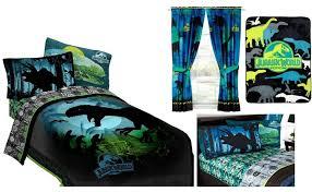 kids girls boys jurassic world dinosaurs bed in a bag comforter