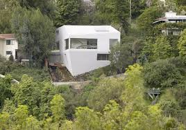 Modern Hill House Designs Modern Hillside Home Design By Johnston Marklee Architects