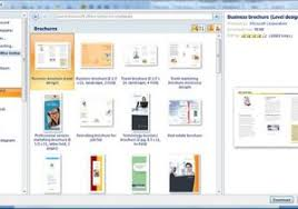 how do you make a brochure in word how to create word 2013