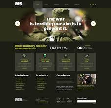 free website templates dreamweaver 13 best military website templates themes free premium military wordpress theme