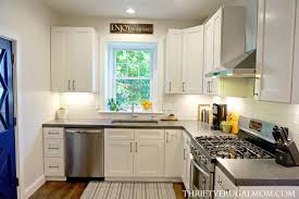budget kitchen remodel ideas budget white kitchen remodel all the details