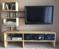 Floating Shelves Entertainment Center by 50 Creative Diy Tv Stand Ideas For Your Room Interior Diy