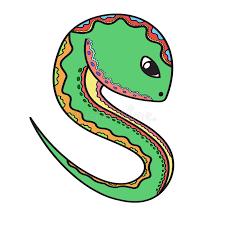 snake stock vector image 62154669