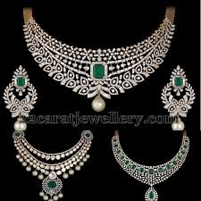 best diamond necklace images 176 best shobha asar images best diamond necklace in jpg