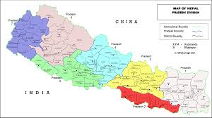 Kathmandu Nepal Map by Map Of Nepal Pradesh Division