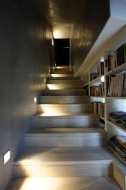 interior modern home located in montonate italy keribrownhomes modern home located in montonate italy keribrownhomes wooden stairs with bookshelf vintage renovation design style ideas with staircase bookshelves also