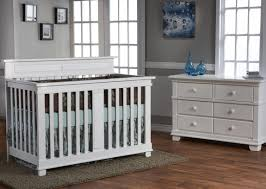 Pali Toddler Rail Pali Torino 2 Piece Nursery Set Crib Double Dresser In White