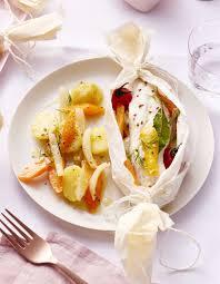 cuisine papillote filet de cabillaud en papillote pour 4 personnes recettes à table