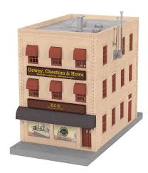 3 story building mth 30 90154 dewey cheetum howe 3 story city building w