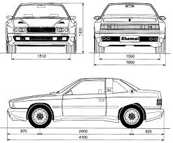 maserati shamal maserati shamal 1991 blueprint download free blueprint for 3d