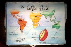 Starbucks Map Bookspiration The Coffee Belt U2013 Little Snail