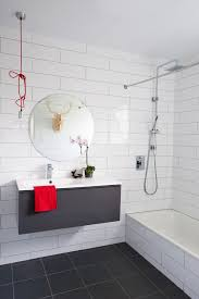 Bathroom Contemporary Bathroom Tile Design by Small Bathroom Makeovers You Can Do In A Weekend