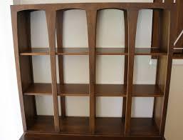 fresh bookcase room divider solid back 16891