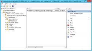 deploy a windows 10 image using mdt windows 10 microsoft docs