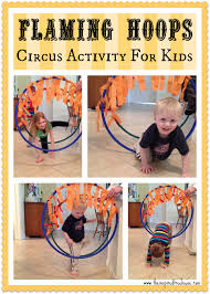 gross motor activities flaming hoops daredevil activities and