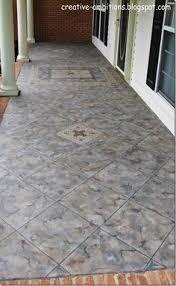 Concrete Faux Paint - painted concrete floor looks easy diy pinterest painted