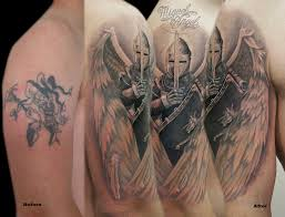 custom guardian angel cover up tattoo miguel angel custom u2026 flickr