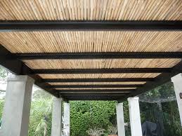 Flat Roof Pergola Plans by Pergola Roofing Design Ideas From The Natural To The Motorized