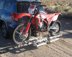 motocross bike trailer harbor freight haul master motorcycle carrier dirt bike test