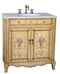 Victorian Vanity Units For Bathroom by 33inch Camay Vanity Hand Painted Vanity Imperial White Marble Top