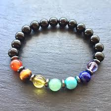 balance bracelet images Black onyx 7 chakra balance bracelet 8mm spirit connexions bracelets jpeg