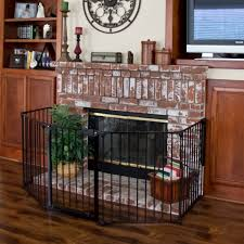 Fire Proof Hearth Rugs Baby Safety Fence Hearth Gate Bbq Fire Gate Fireplace Metal