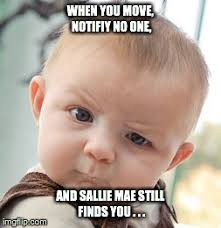Sallie Mae Memes - skeptical baby meme imgflip