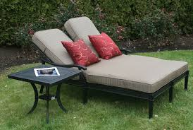Aluminum Chaise Lounge Beautiful Double Chaise Lounge Outdoor Furniture All Home
