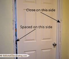 Prehung Exterior Doors How To Install A Prehung Door Tips From A Novice Prehung Doors