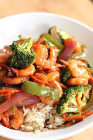 and vegetables with thick soy sauce