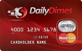 prepaid mastercard daily dimes prepaid mastercard