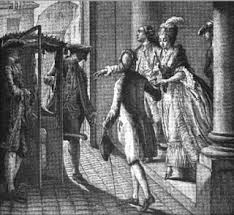 Sedan Chairs Debate Issue Sedan Chairs Could Provide The Financially Elite