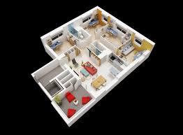 appartement 4 chambres colocation à boulevard babin chevaye nantes colocation