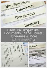 travel documents images How to organize travel documents jpg