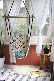hammock chair diy bedroom swing indoor ikea beautiful mess outdoor