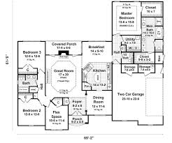 ranch floor plans with walkout basement smartness ranch house plans with walkout basement design