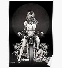 pinup tattoo posters redbubble