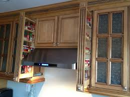 Inch Pullout Kitchen Spice Rack Cabinet Upper Kitchen Cabinets - Kitchen cabinet spice storage
