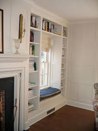 Built In Bookshelves Around Fireplace by 136 Best Bookcases Windows Images On Pinterest Home Diy And