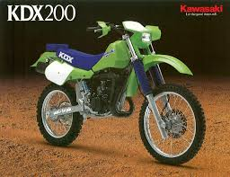 10 best kawasaki kdx 200 images on pinterest motorcycle vintage