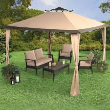 Cindy Crawford Gazebo by Oversized 10 U0027 Sq Instant Pop Up Gazebo Patio Furniture