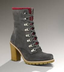 womens ugg high heel boots ugg boots fabrice 1001990 charcoal outlet 210 00 ugg