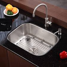 American Kitchen Sinks by Kitchen Sinks Prep Undermount Single Bowl Sink Corner Nickel