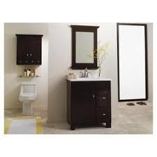 Bathroom Vanity 30 X 21 Allen Roth Palencia Espresso Contemporary Bathroom Vanity