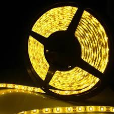 Ribbon Lights Outdoor Yellow Led Light Led Strips Waterproof Ribbon