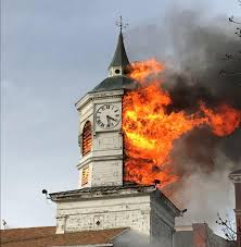 Ny Memes - put me like clocktower went up in flames near my university in ny