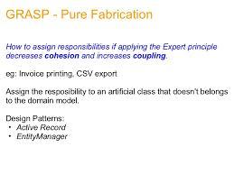 design pattern php là gì grasp principles