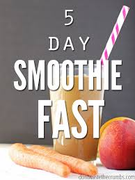 5 day smoothie fast